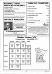 Table of Contents, Meeker County 1999